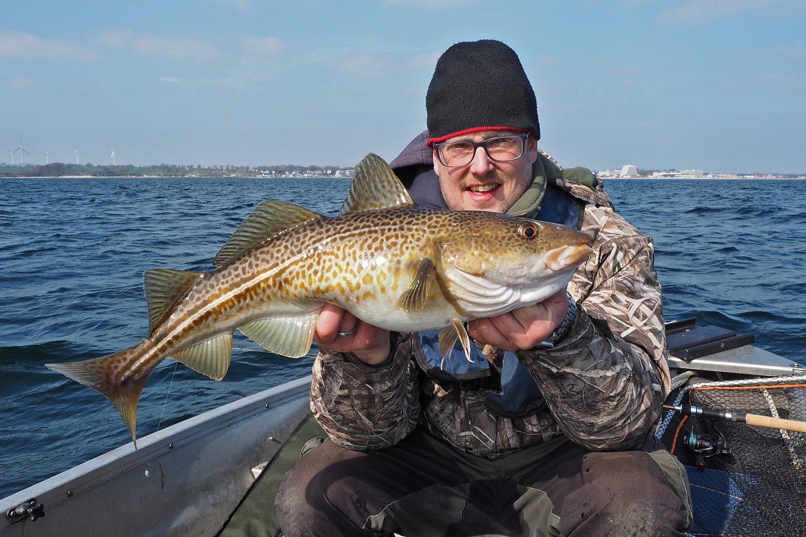 Auf Dorsche angeln in der Ostsee
