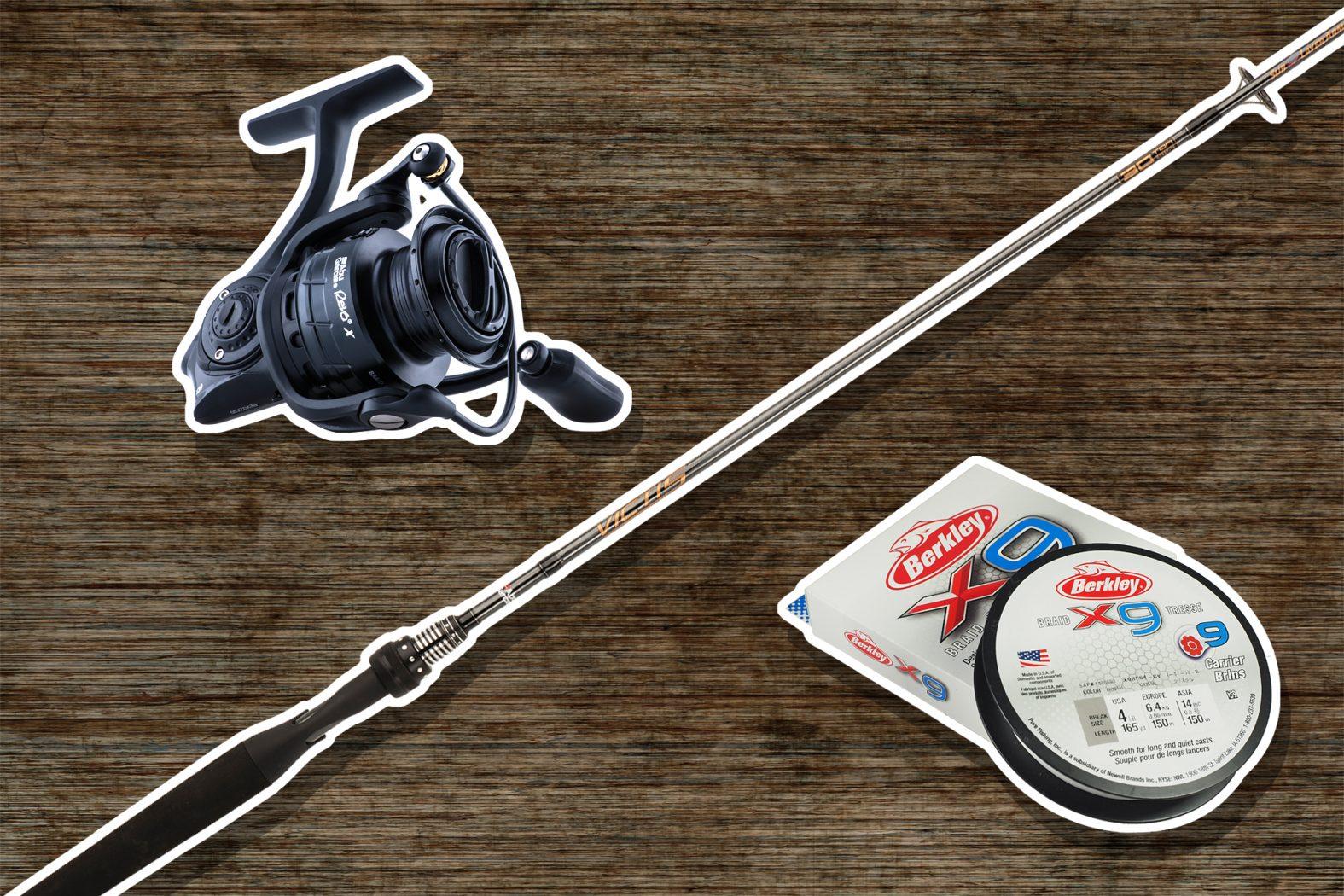 Die richtige Ausrüstung zum Spinnfischen