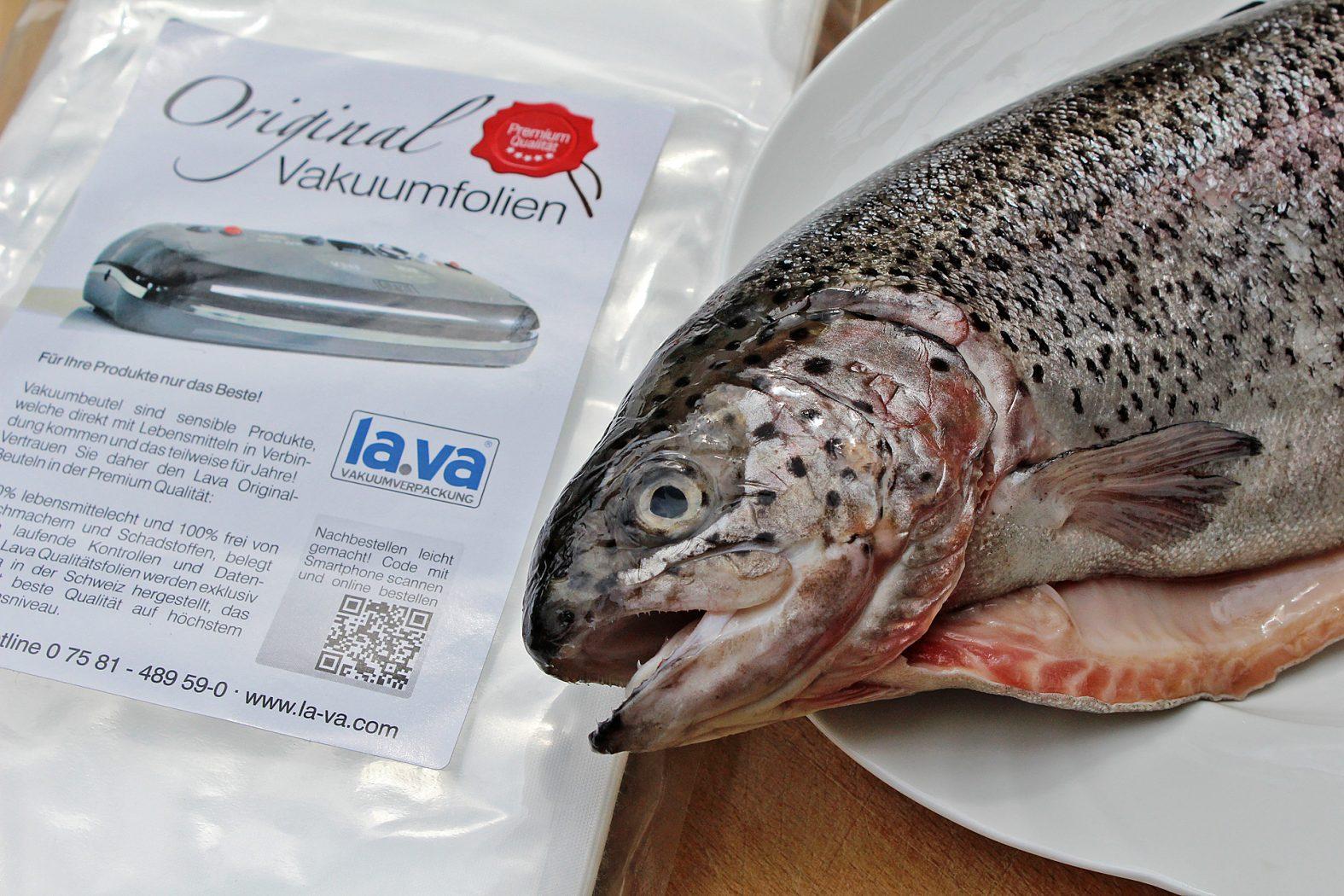 Fisch richtig vakuumieren
