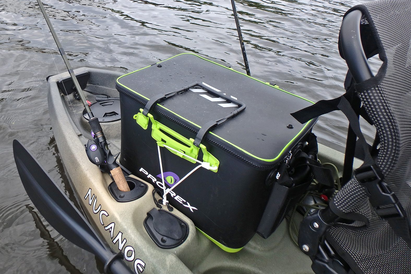 Wasserdichte Bootstasche fürs Kajak-Angeln