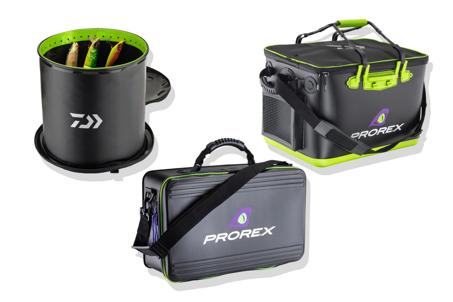 Prorex-Angeltaschen aus EVA von Daiwa