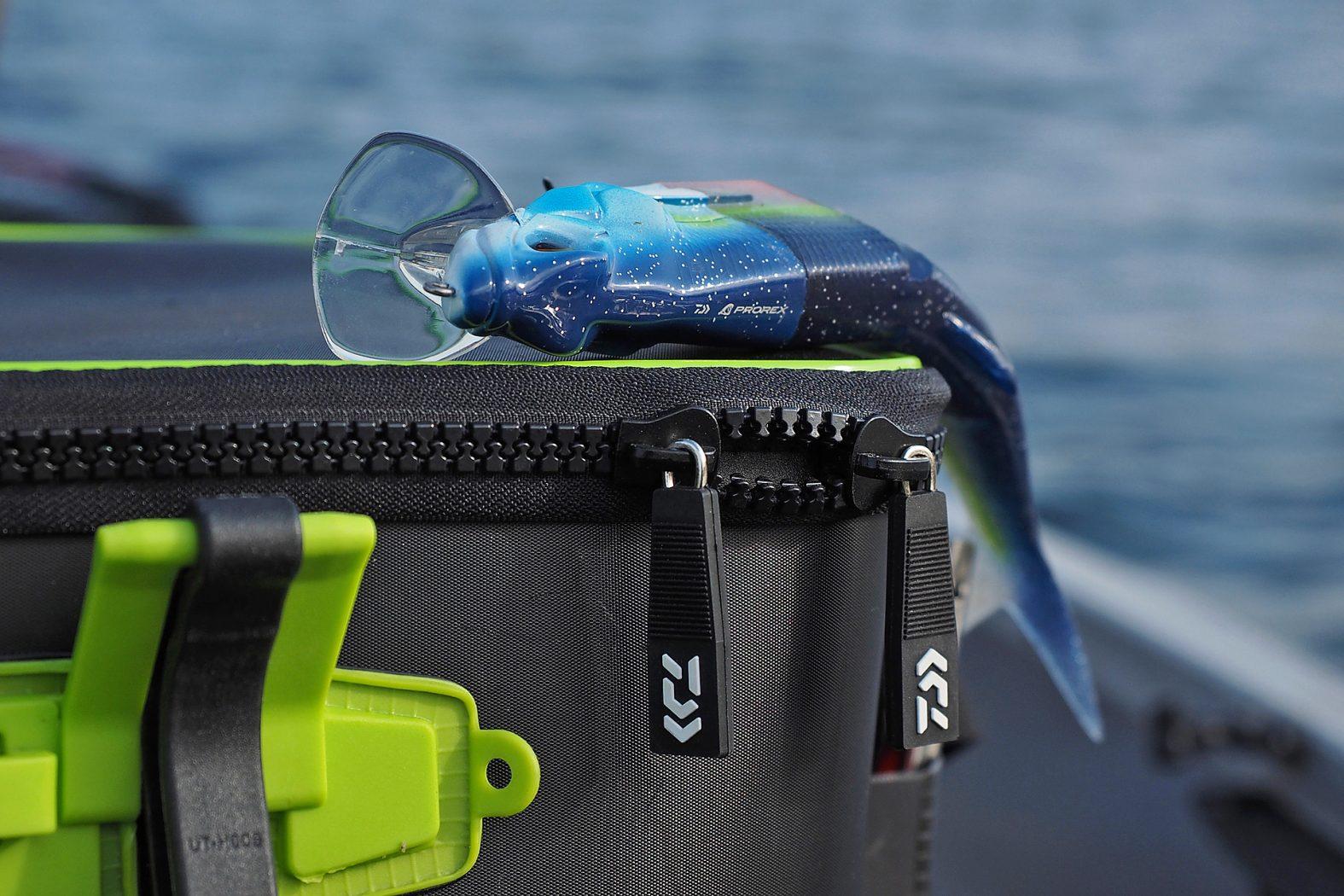 Wobblertasche für Angler