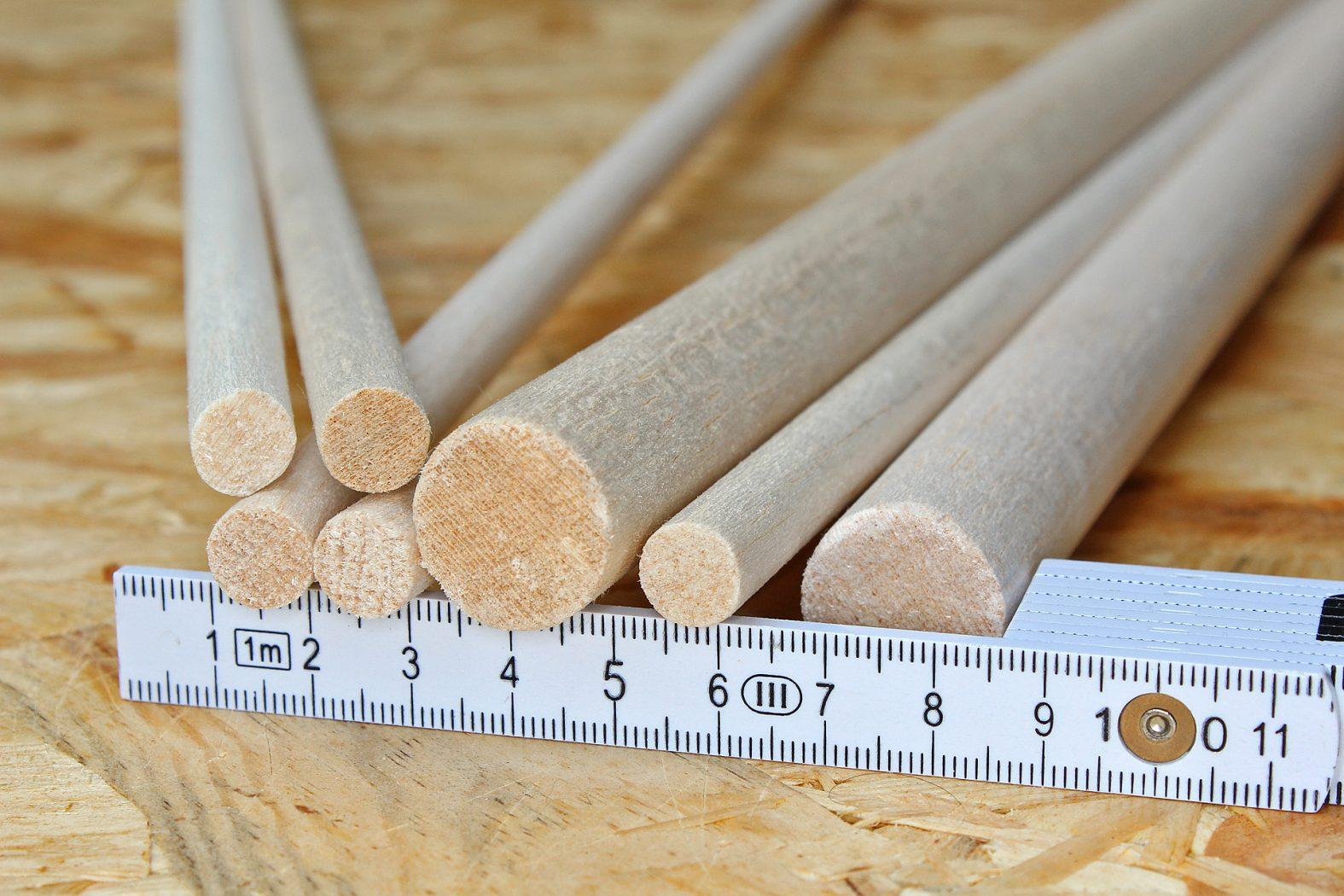 Posen aus Balsaholz selber bauen