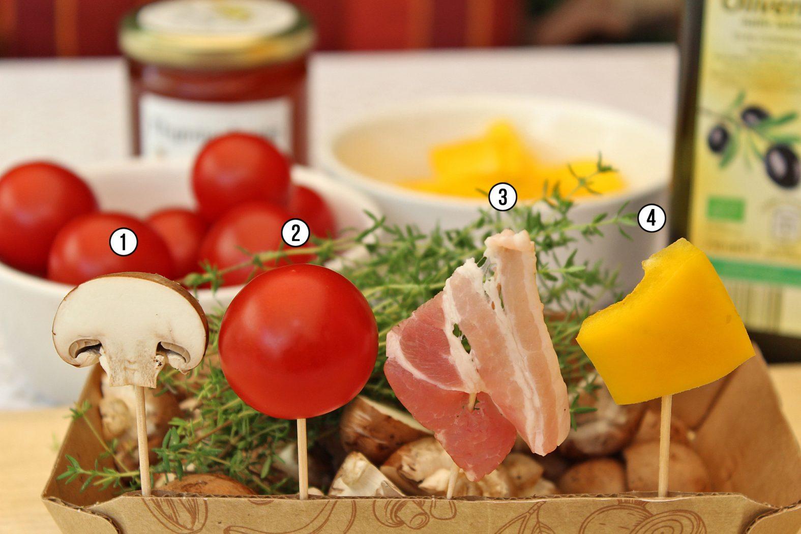 Zutaten für ein Hornfisch-Rezept