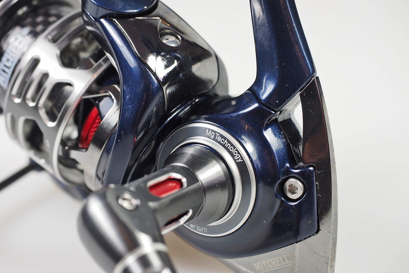 Stationärrolle zum Spinnfischen: die Mitchell MX9 25FD