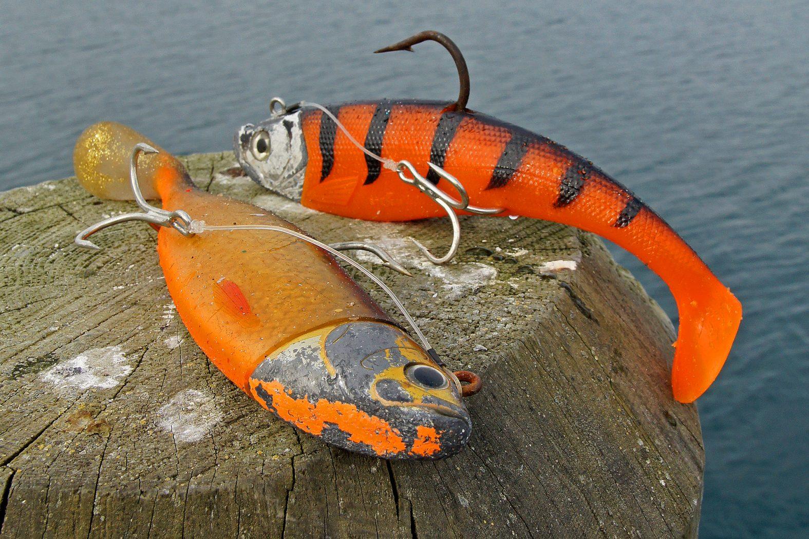 Heilbutt angeln mit Gummifisch