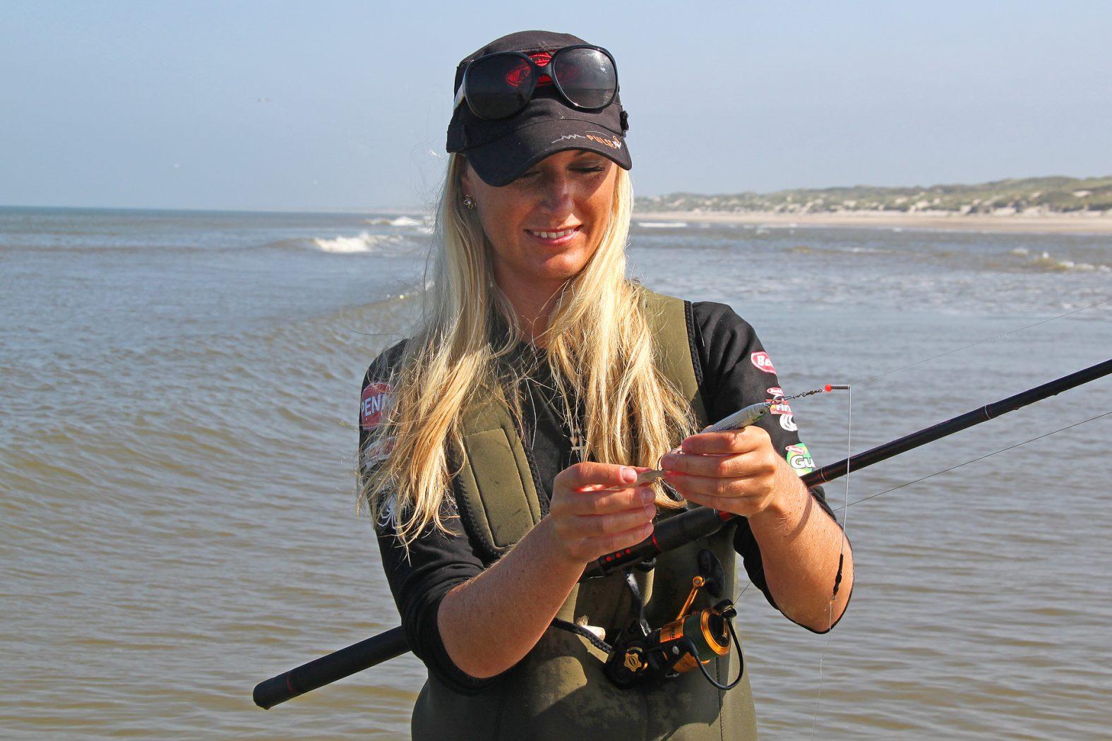 senja furbo beim steinbutt angeln