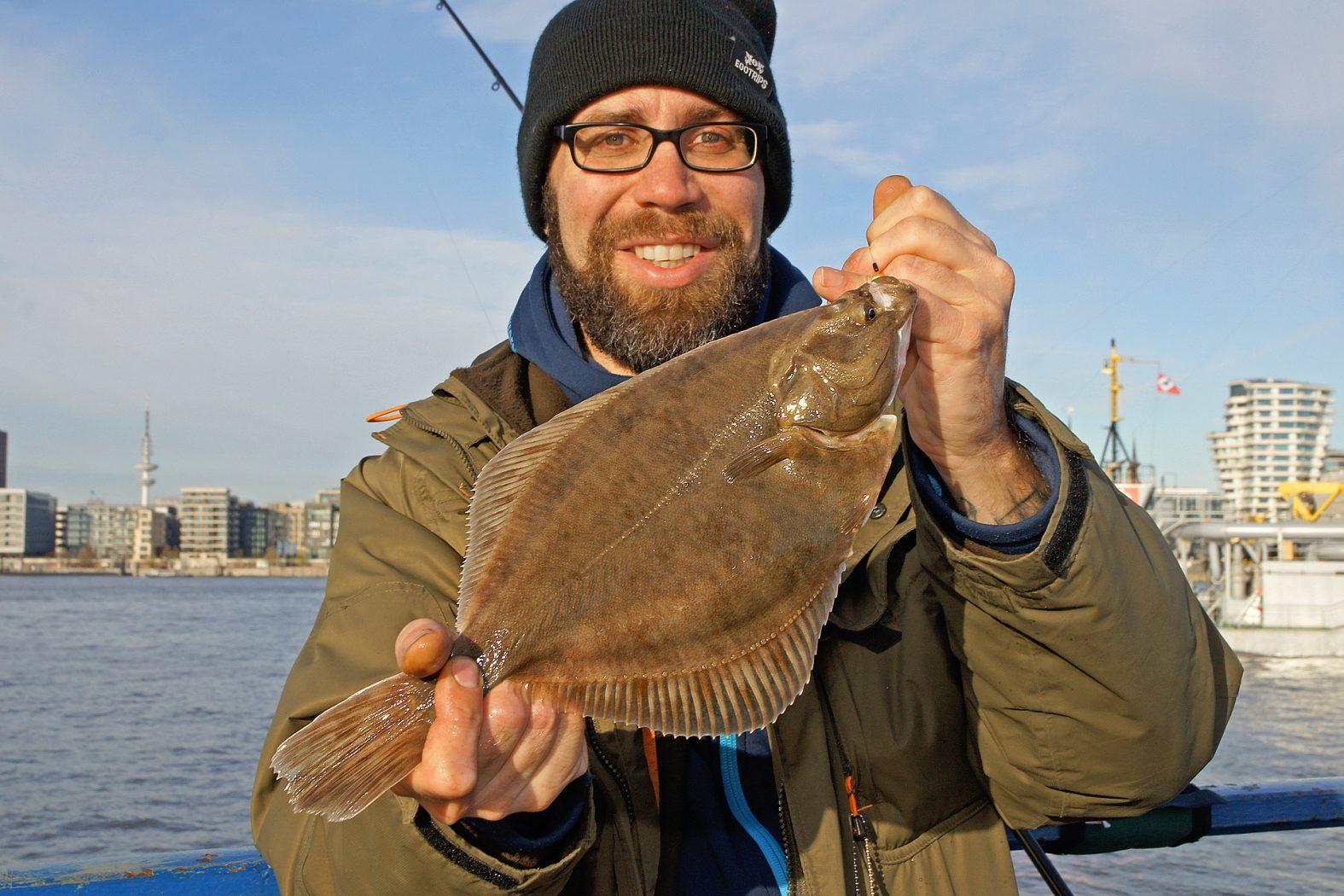 Plattfische schlachten