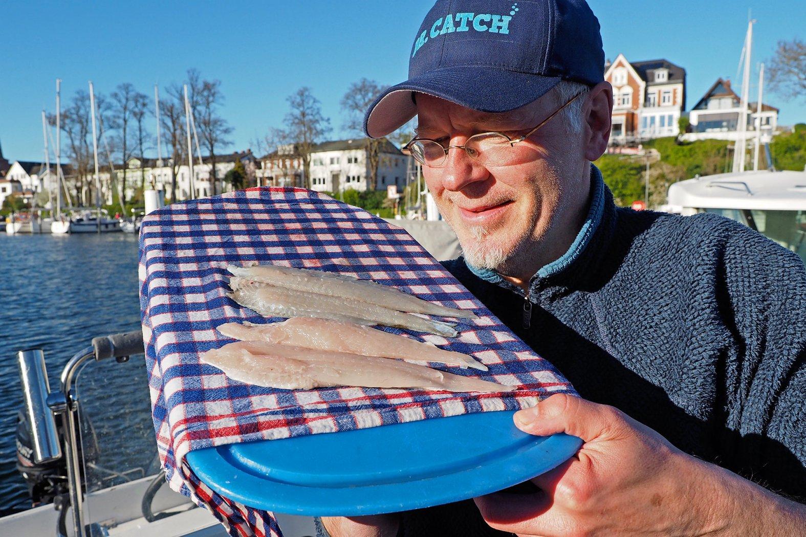 plattfisch sauber filetiert