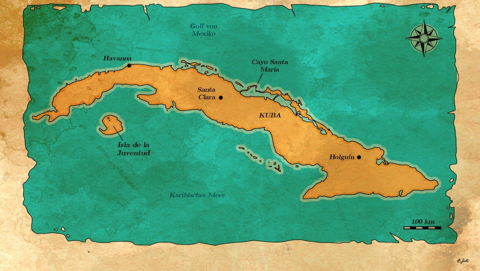 Cayo Santa Maria Angeln Kuba
