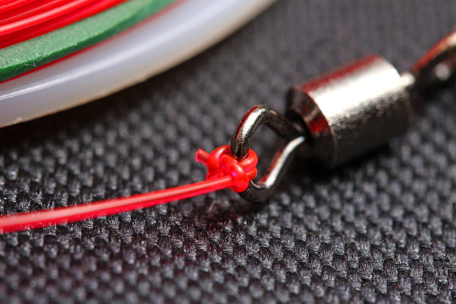 angelknoten für wirbel und haken