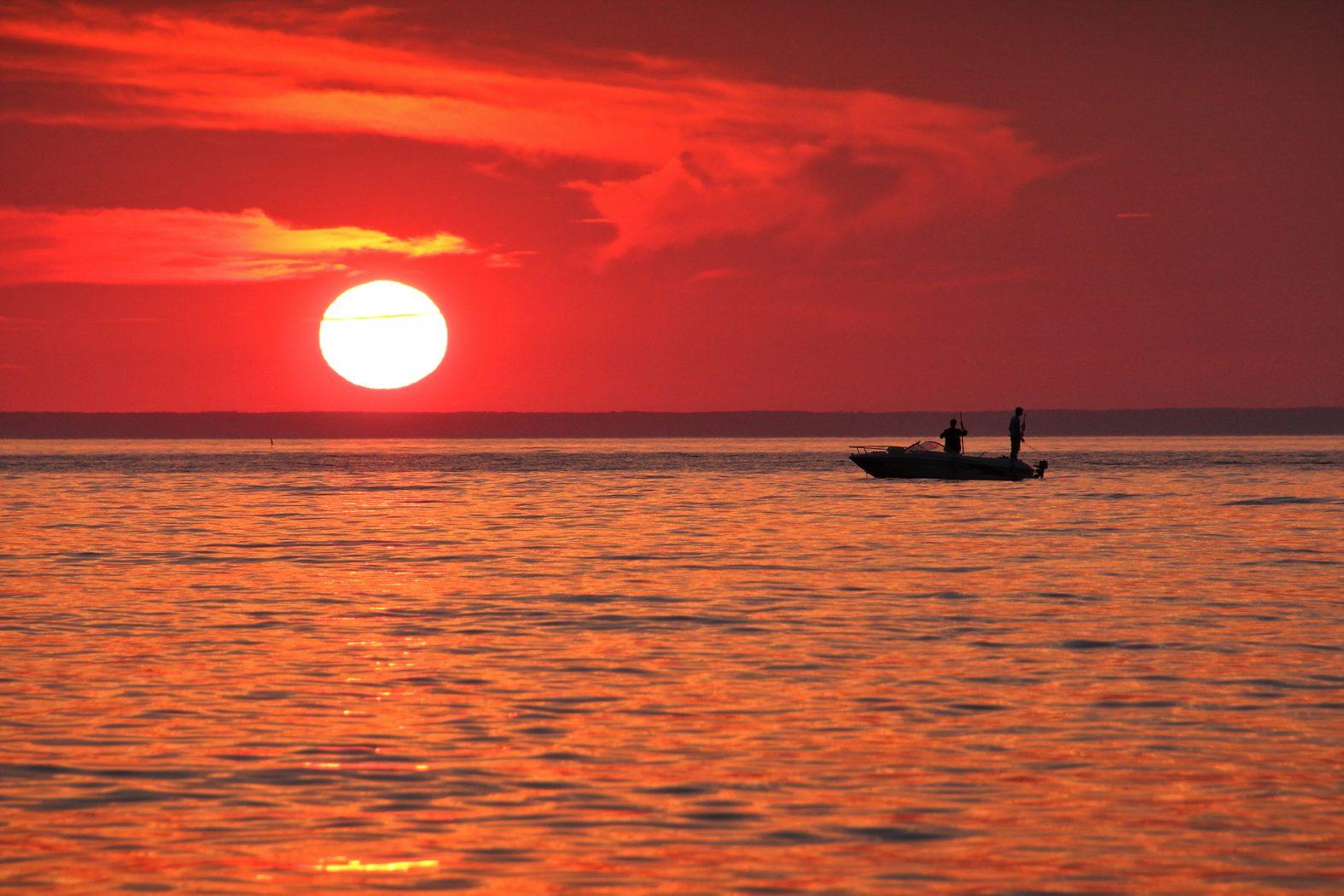 Angelurlaub mit Boot in Kroatien auf der Adria