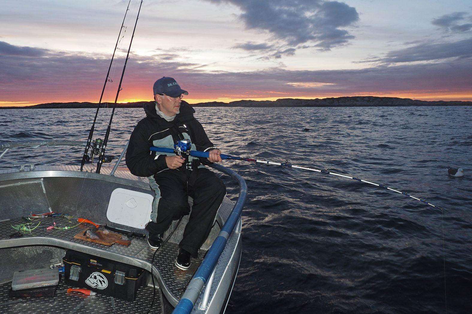 Angeln mit Naturködern in Norwegen