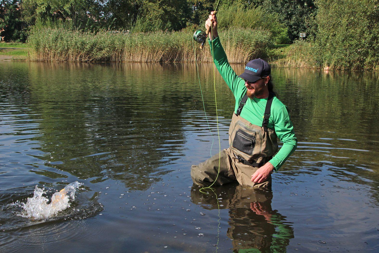 Wathose Fliegenfischen Test