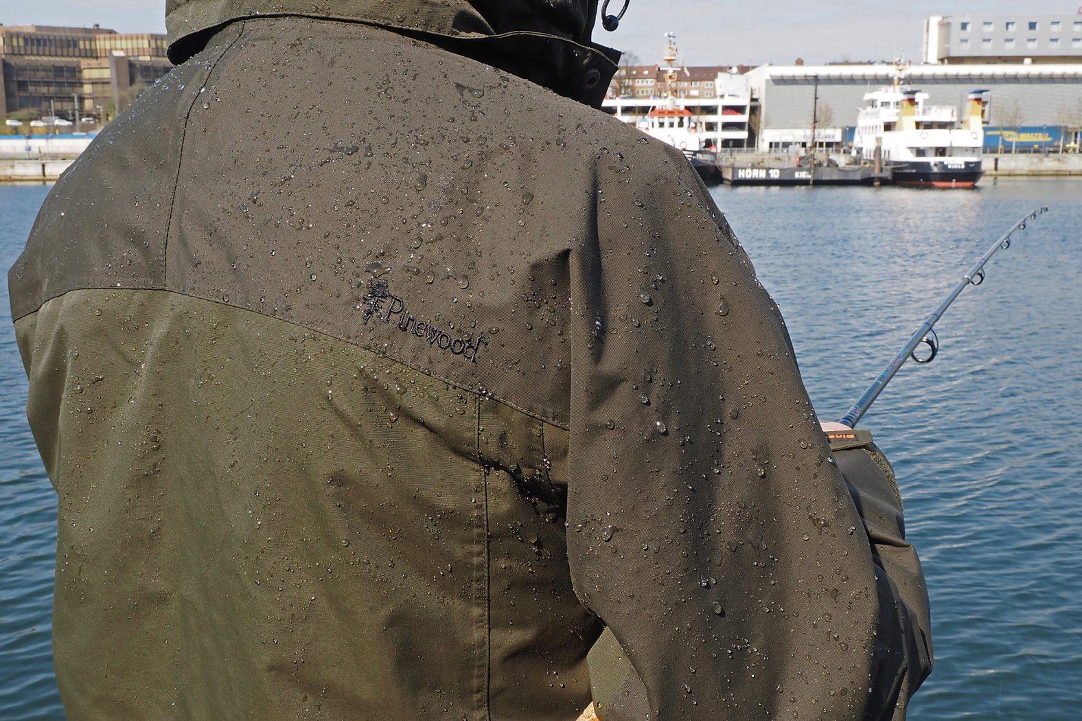 Jacke waschen und impragnieren