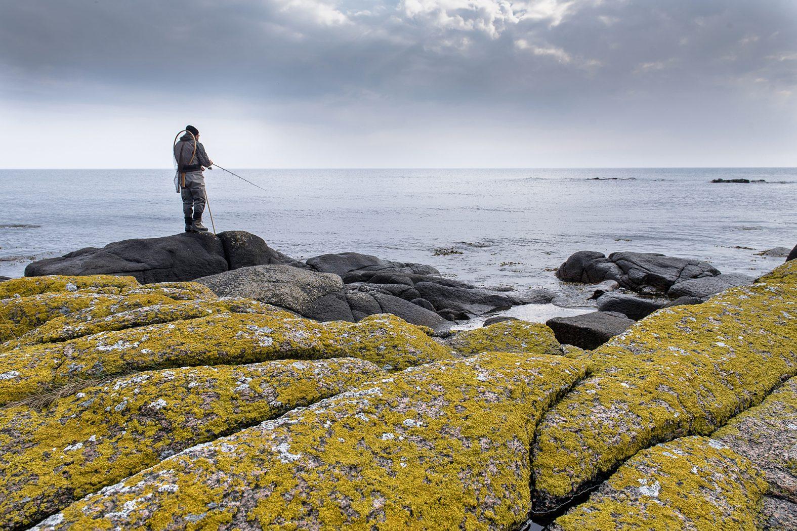 Angeln auf Meerforelle und Dorsch auf Bornholm
