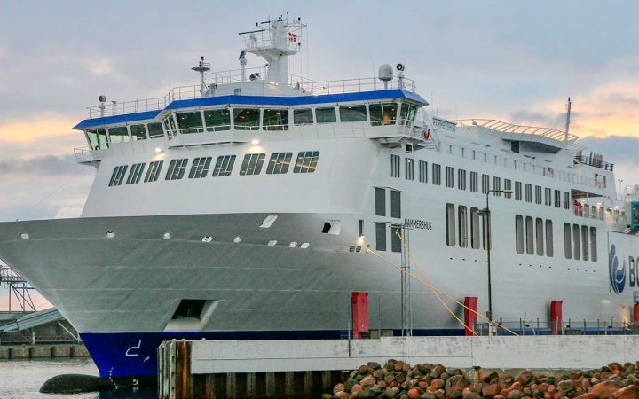 Fähre nach Bornholm