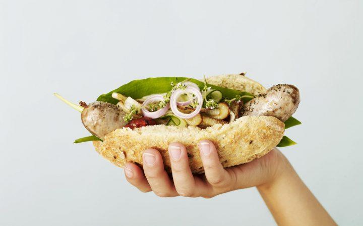 Dänischer Hotdog