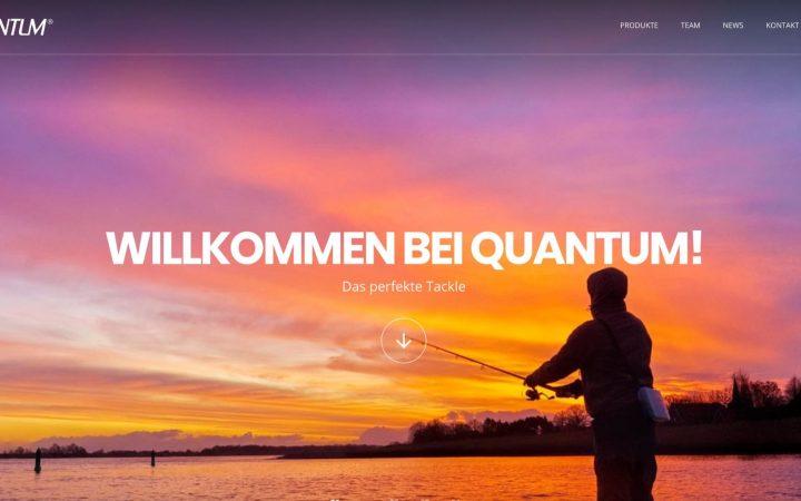 Website von Quantum