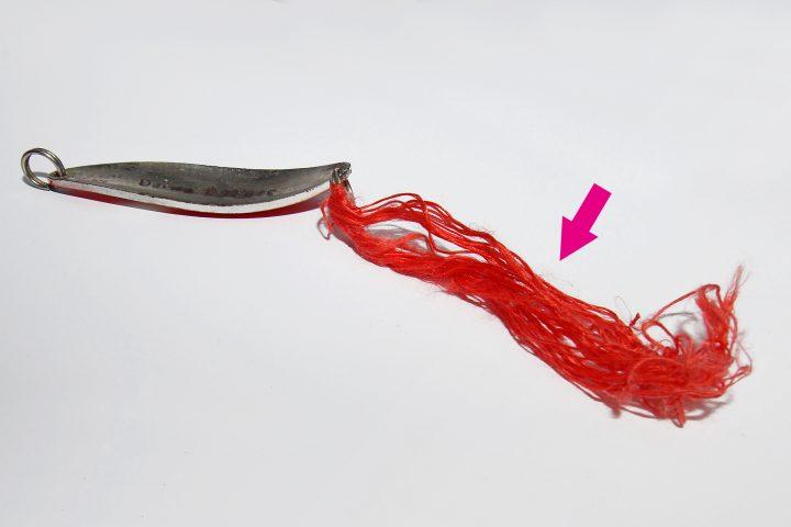 Silkekrogen zum Angeln auf Hornhecht