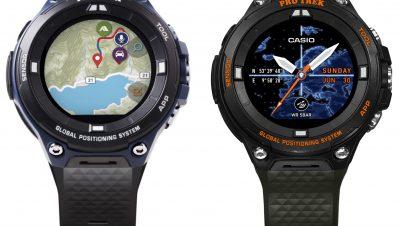 Casio Pro Trek Smartwatch für Angler