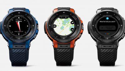 Casio Pro Trek Uhr für Angler