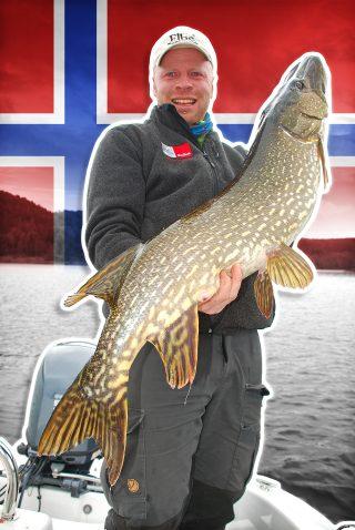 Hechtangeln in Norwegen