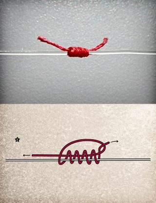 stopperknoten zum angeln selber binden