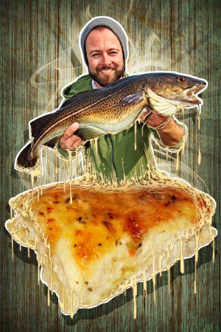 Das Rezept für Fischauflauf mit Dorsch
