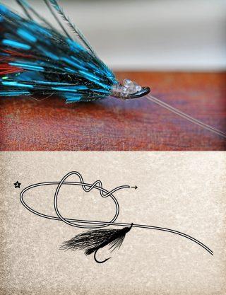 Fliegenfischen-Knoten Turle Knot