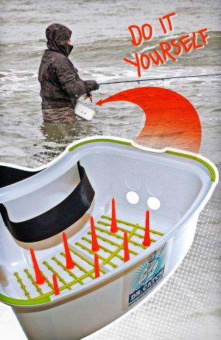 Schnurkorb zum Fliegenfischen selber bauen