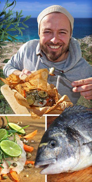 Das Meerfenchel-Rezept: Gebackene Dorade im Backpapier