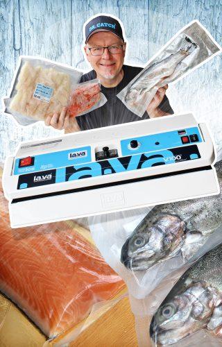 Anleitung zum Fisch vakuumieren