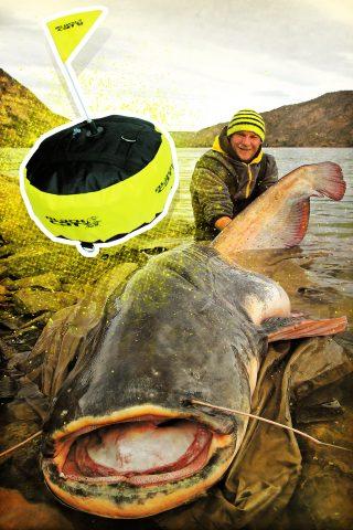 Wels angeln für Anfänger: die Bojenmontage