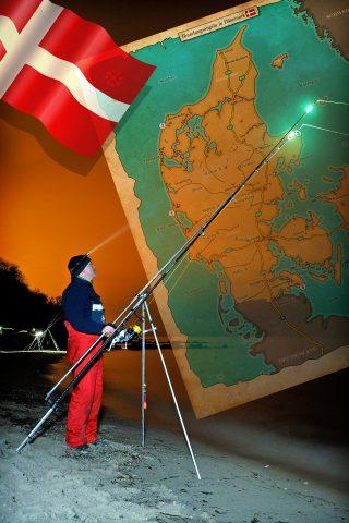 Brandungsangeln in Dänemark