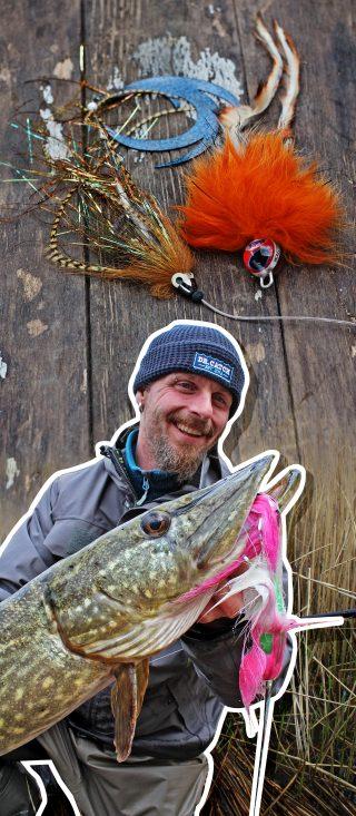 Auf Hecht angeln mit Streamer und Spinnrute
