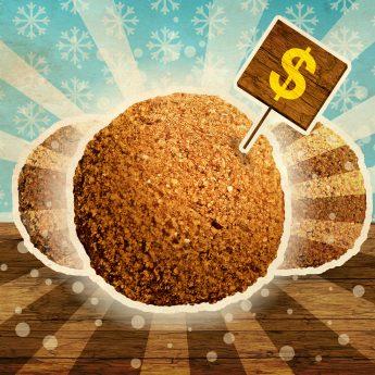 Reste von Grundfutter einfrieren