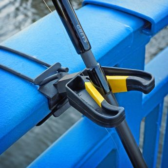 Rutenhalter für Seebrücken und Molen