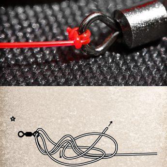 angelknoten anleitung für geflochtene und monofile