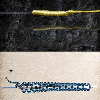 Anleitung verbesserter Albright-Knoten