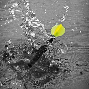 Gewässer ausloten mit Marker Float