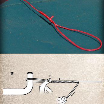 Bimini-Twist-Knoten binden