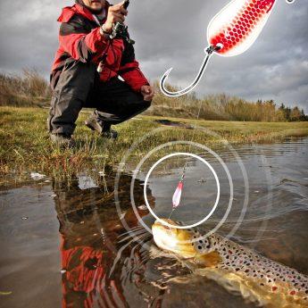 Ultraleicht fischen auf Forellen