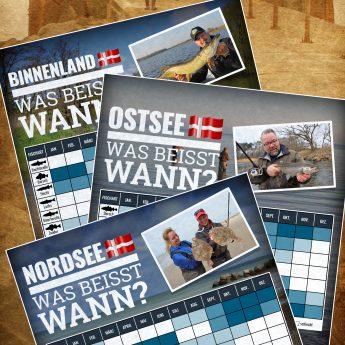 Angelsaison und beste Fangzeiten in Dänemark