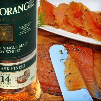 Meerforelle beizen mit Whisky
